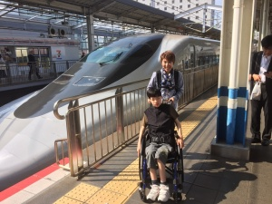 【画像】新幹線に乗ったよ