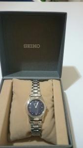 【画像】SEIKO女性用触読腕時計