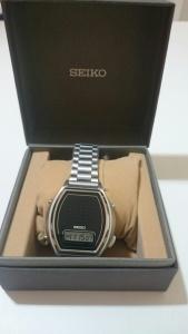 【画像】SEIKO男性用音声腕時計