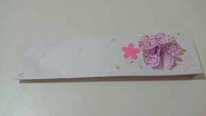 【画像】手作りの箸袋