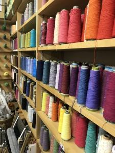 【画像】さをり織の糸