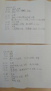 【画像】届いた手紙(旅の行程)