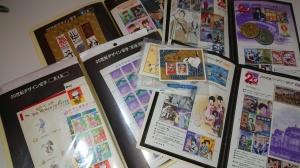 【画像】切手たくさん