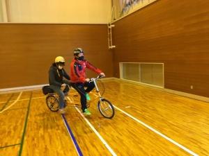 【画像】タンデム自転車講習会2